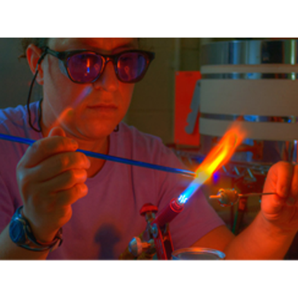 Hocking College Faculty | Flameworked Glass Workshop (1-Day)<br>Sharon Warren