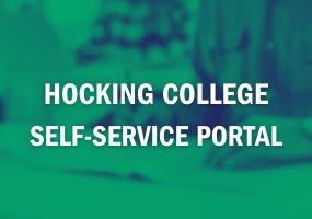 Hocking College Self-Service Portal