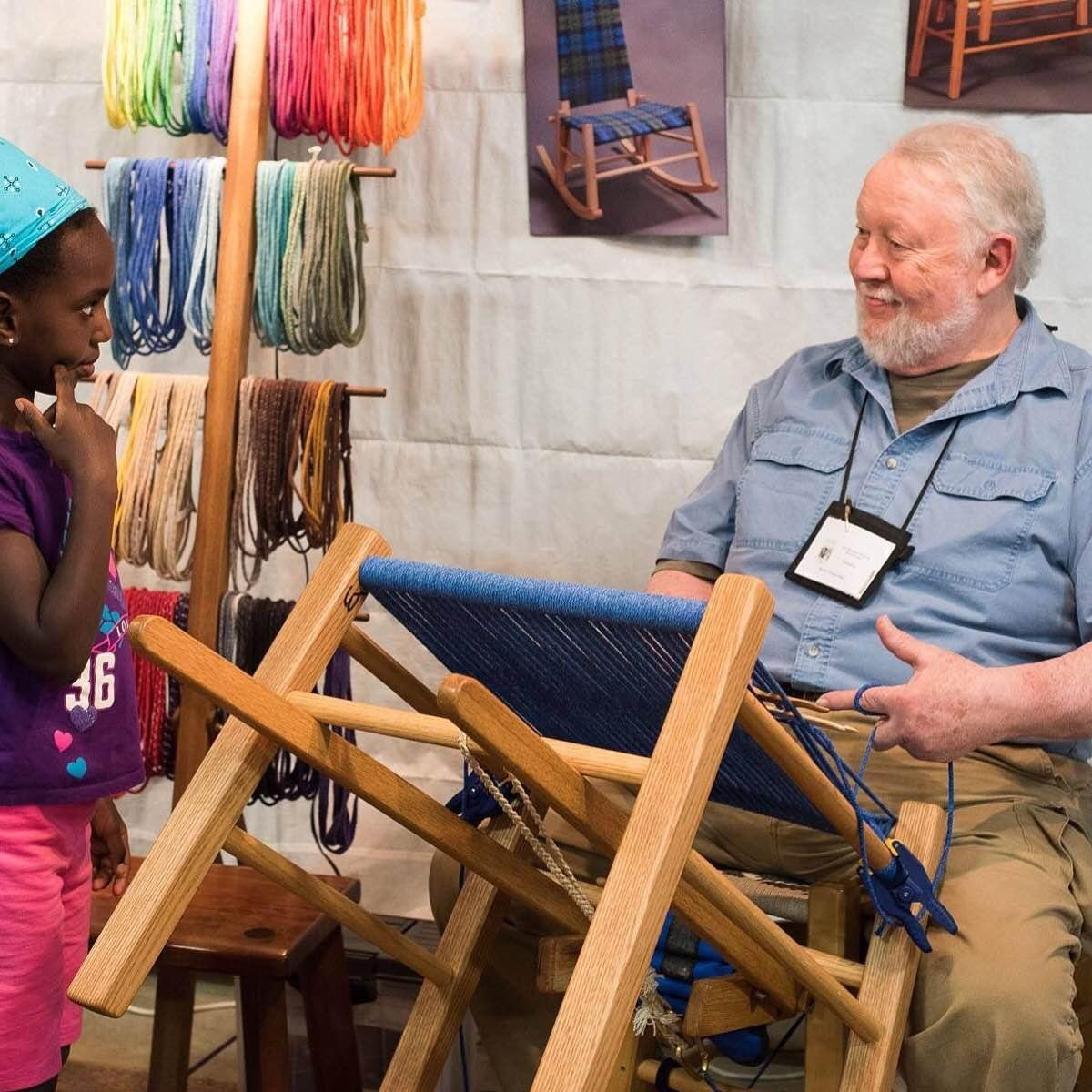 Hocking College Faculty | The Seatweavers' Guild 10th Anniversary Annual Gathering<br><br>SeatWeaving Roadshow and Demonstration
