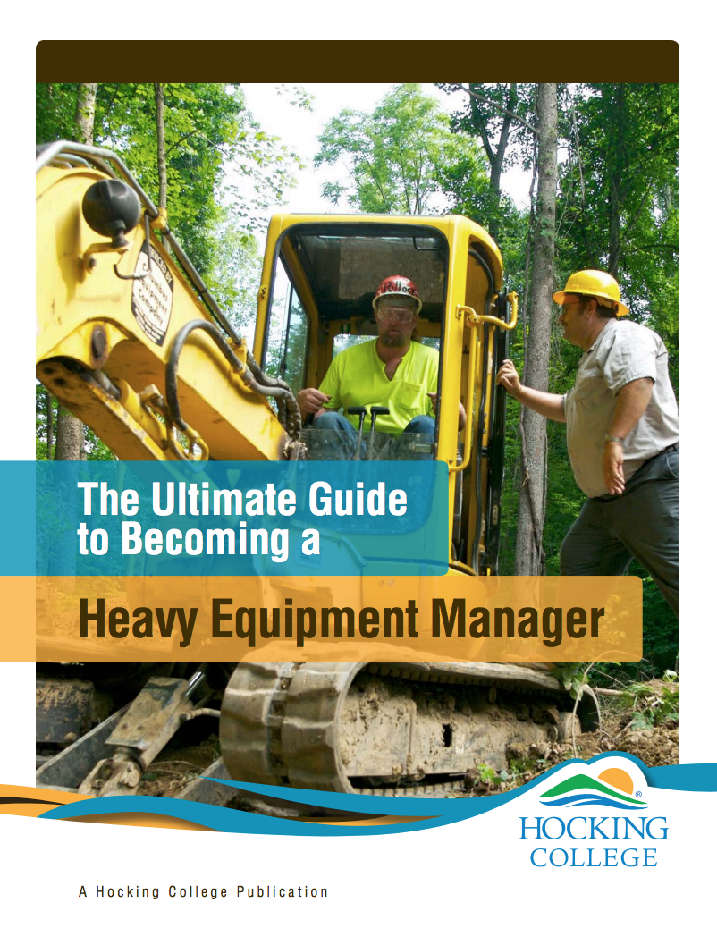 become a heavy equipment manager | find your ideal career