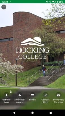 Hocking College App