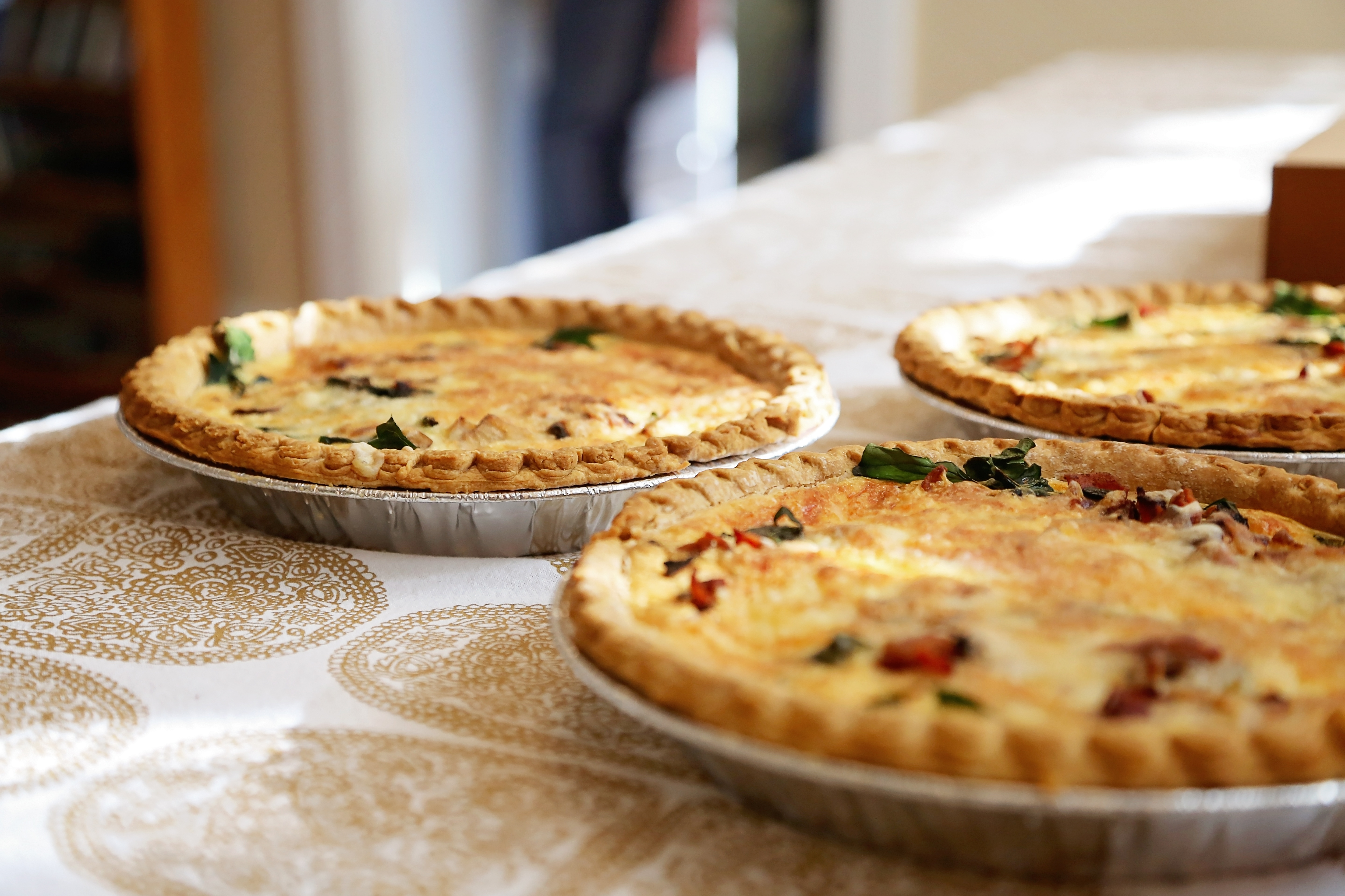 Hocking College Faculty | Holiday Pies<br>Master Chef Alfonso Contrisciani