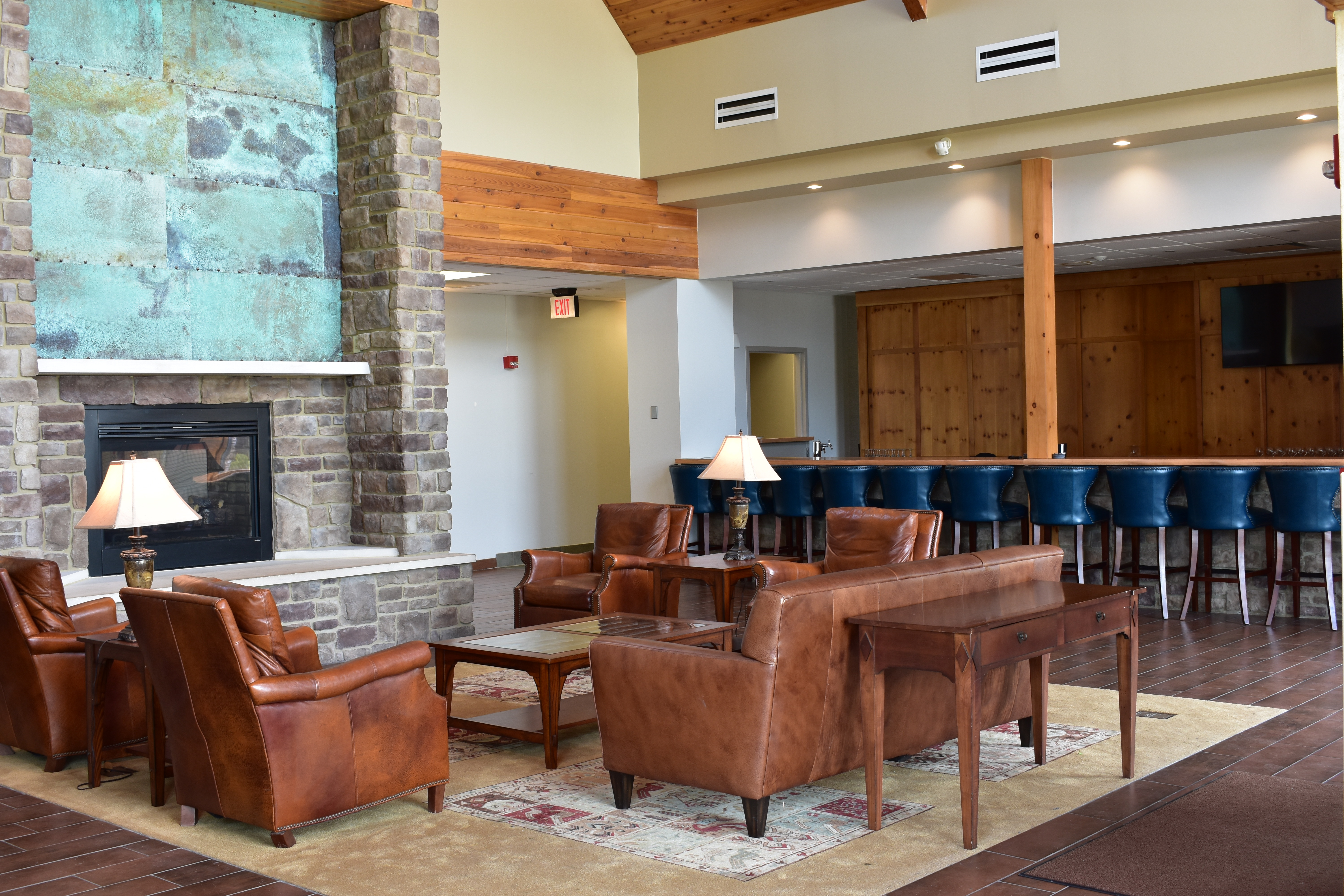 The Lodge at Hocking College | Lobby