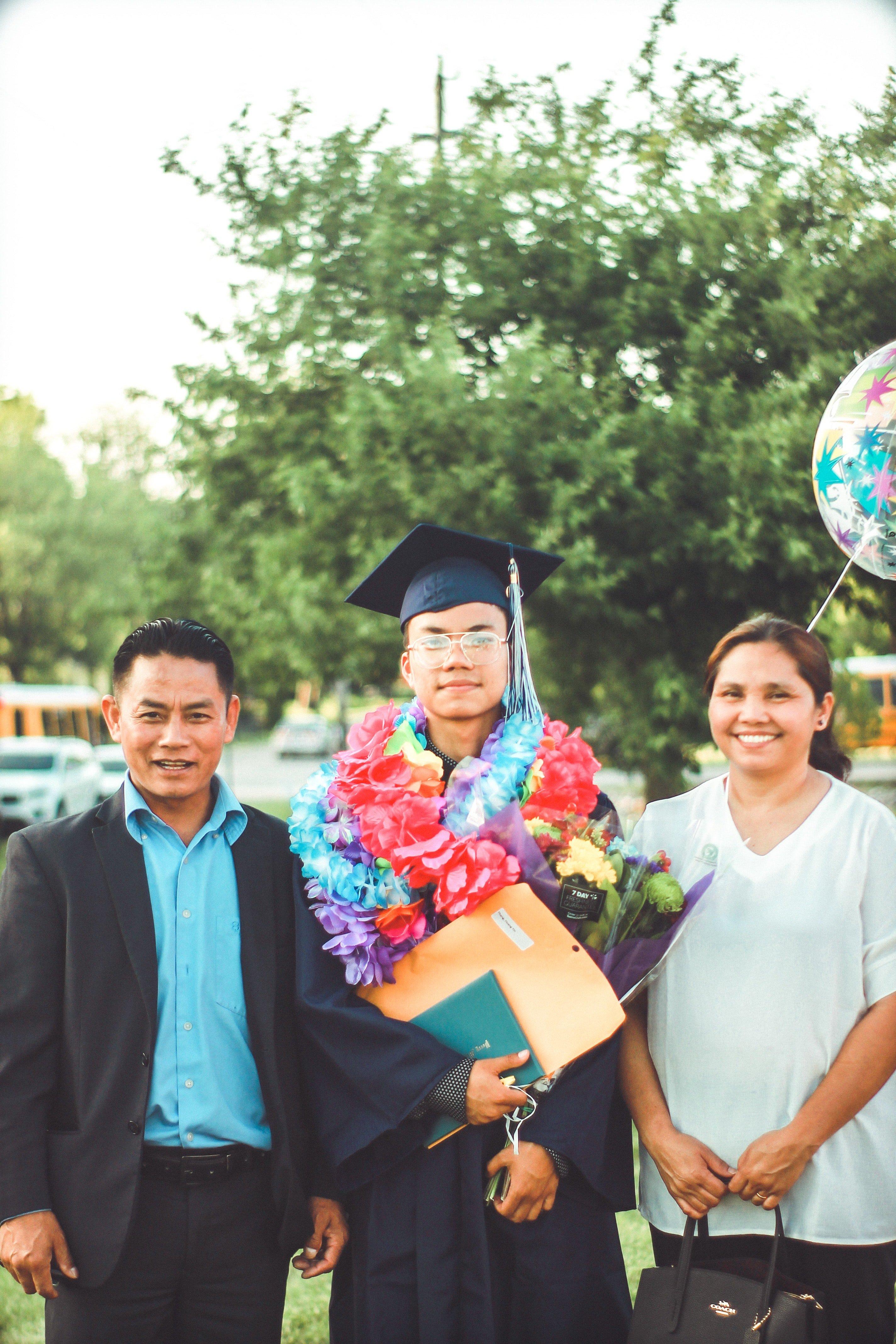 parents and graduate